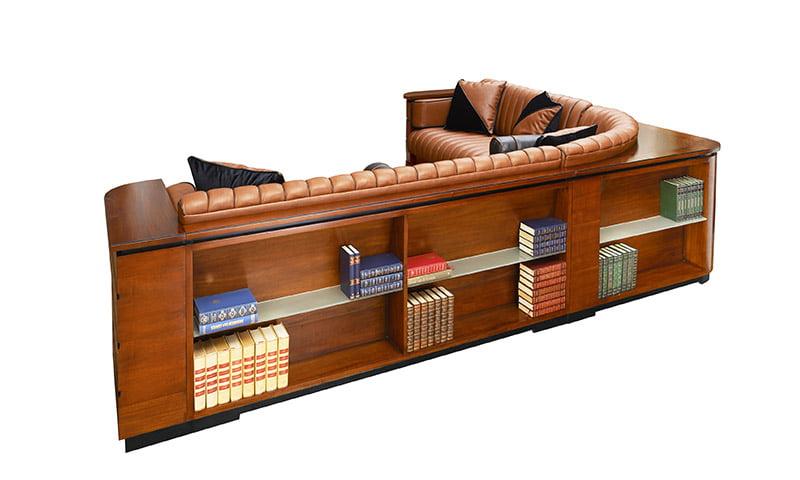 Art Deco Hoekbank.Sofa Berferac