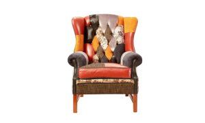 Chesterfieldz Wingback Chair Patchwork