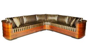 Art Deco Corner Sofa
