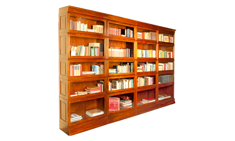 Stackable bookcase type 1 jan frantzen for Types of bookshelves